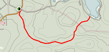 Burley Inlet Trail Map