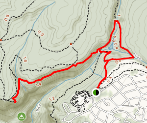 Rainbow Lake to Bee Branch and Signal Point Trail Map