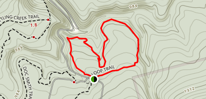 Stone Cabin Trail Map