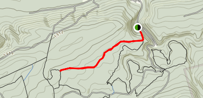 Rattling Creek Trail Map