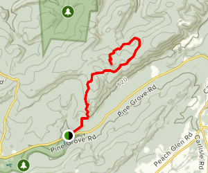 Hammonds Rocks Trail Map