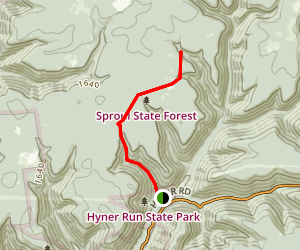 Fye Camp Trail Map