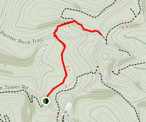 Hillside Trail Map