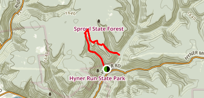 Long Fork Trail Map