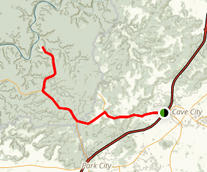 Mammoth Cave National Park Scenic Drive Map