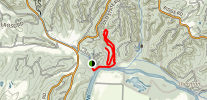 Bluffview Trail Map