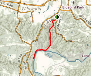 Rock Hollow Trail Map