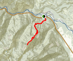 Ousel Peak Trail Map