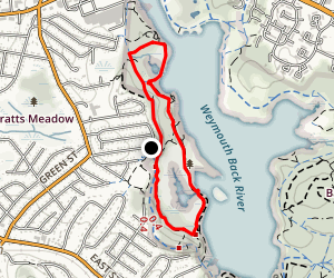 Great Esker Park Loop Trail Map