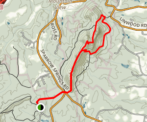 Rocktop Trail Map
