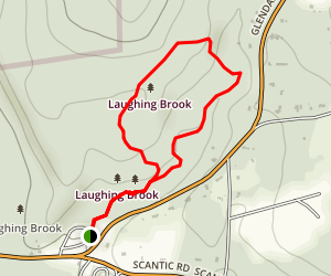 Laughing Brook Wildlife Sanctuary Map