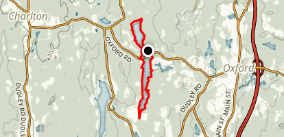 Buffumville Lake Loop Map