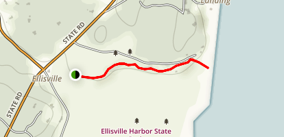 Ellisville Harbor State Park Trail Map