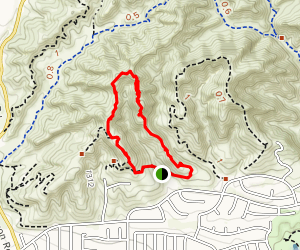 Cottonwood Hills Loop Map