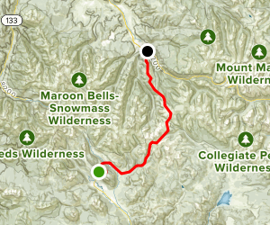 Gore-Tex Grand Traverse Map