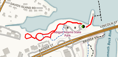 Abigail Adams State Park Map