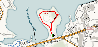 Stodders Neck Map