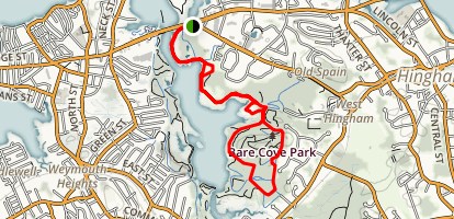 Bare Cove Path Map