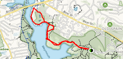 Bare Cove Path Loop Map