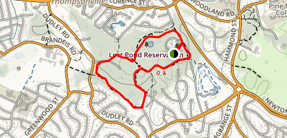 Lost Pond Trail Map