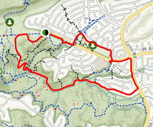 Wildwood Canyon and Las Flores Trail Map