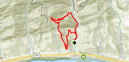 Arroyo Hondo Preserve Loop Map
