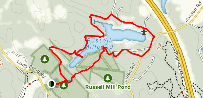 Russell Millpond Loop Trail Map