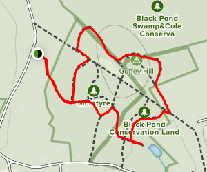 Black Pond Nature Preserve Map