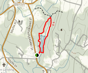 Brewer Brook Dam Trail Map
