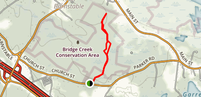 Bridge Creek East Side Ramble Trail Map