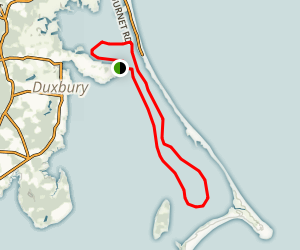 Duxbury Bay and Back River Map