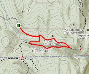 Sages Ravine via Appalachian Trail Loop Map