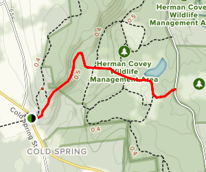 Cold Spring Trail Map