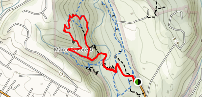 Oak Rige Trail Map