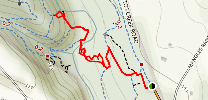 Twisted Forest Trail Loop Map
