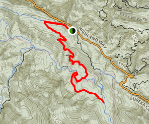 Cusacks Trail Map
