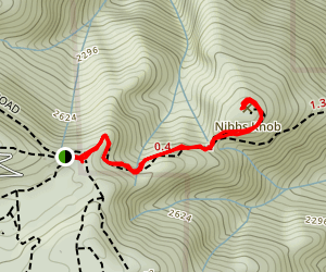 Maymens Flat and Knibbs Knob Trail [CLOSED] Map