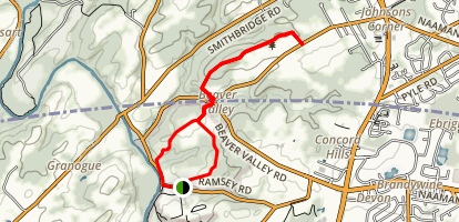 Beaver Valley Map
