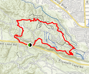 Joshua Ranch Loop Map