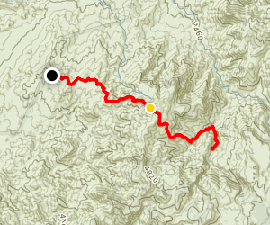 Reavis Falls Trail Map