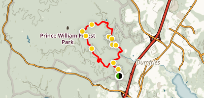 Pyrite Mine Loop Trail Map