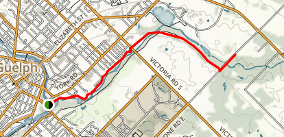 Eramosa River Trail Map
