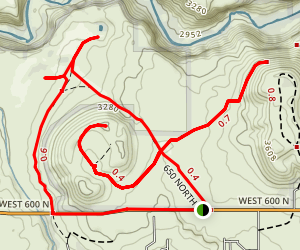 Virgin River Overlook Map