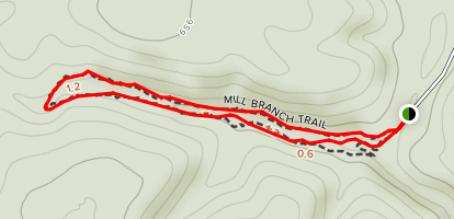 Mill Branch Trail Map
