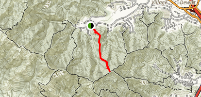 Thornhill to Big Rock Ridge Map