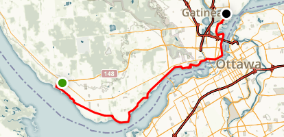 Voyagers Pathway- Sentier des Voyageurs Pathway Map