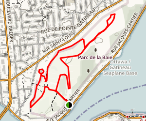 Parc de la Baie Trail Map