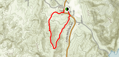 High Road to Taos Classic Map
