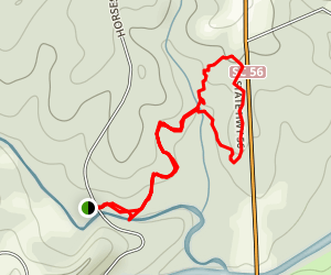 Musgrove Mill Horseshoe Falls Trail Map