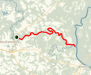 Meherrin River Map